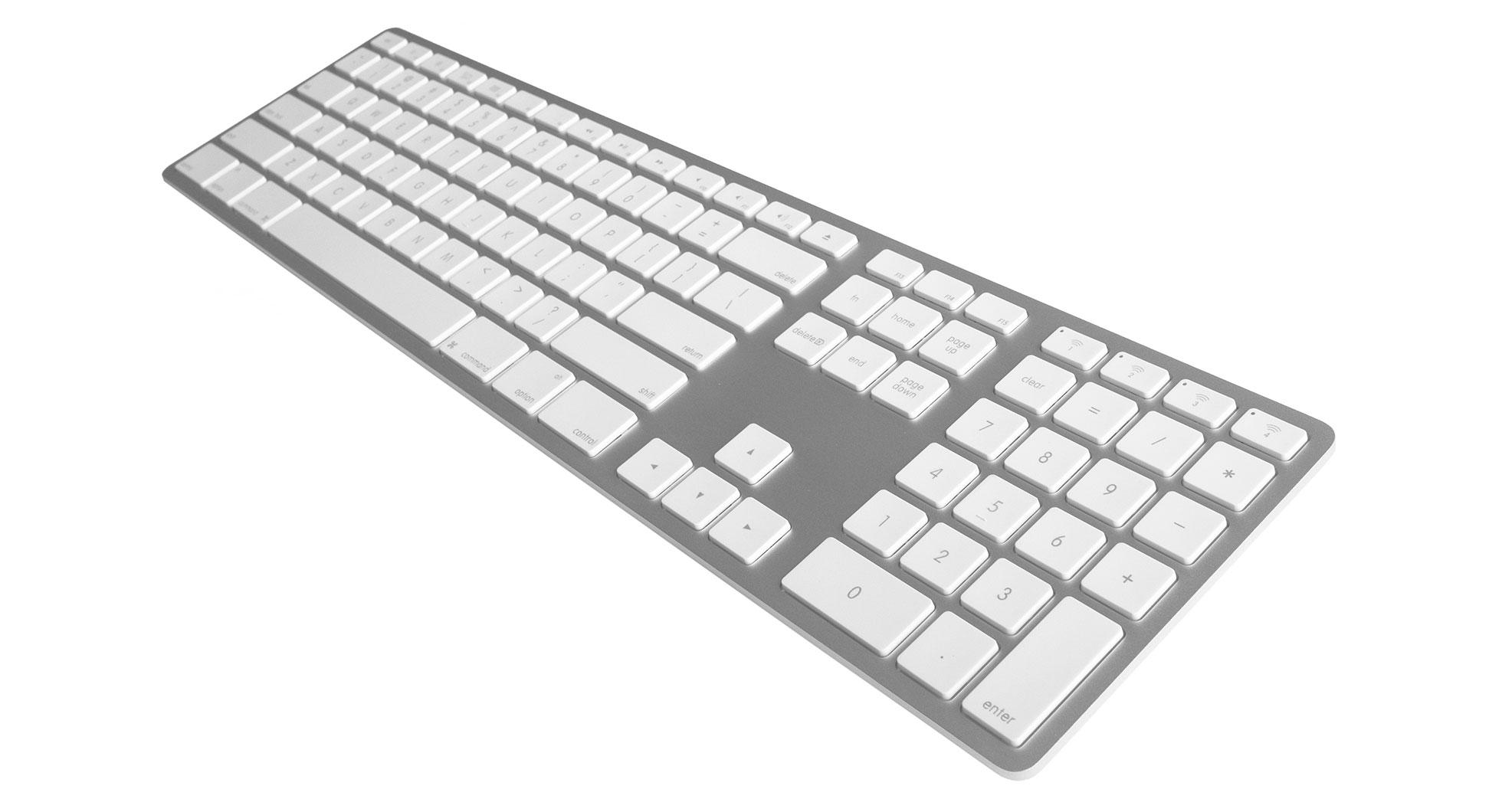5b4f55f7e64 Matias Wireless Aluminum Keyboard