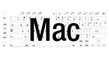 Mac layout