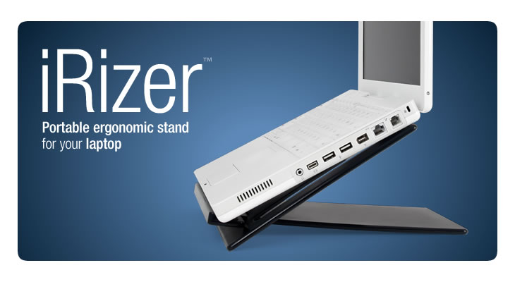 Matias Irizer Portable Ergonomic Stand For Your Laptop