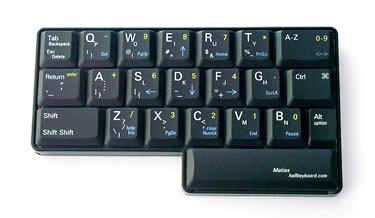 half keyboard