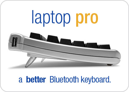 Matias Laptop Pro - a better Bluetooth keyboard.