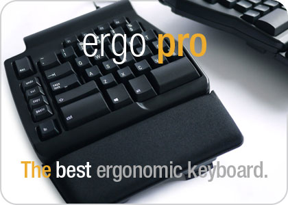 Matias Ergo Pro - The best ergonomic keyboard.