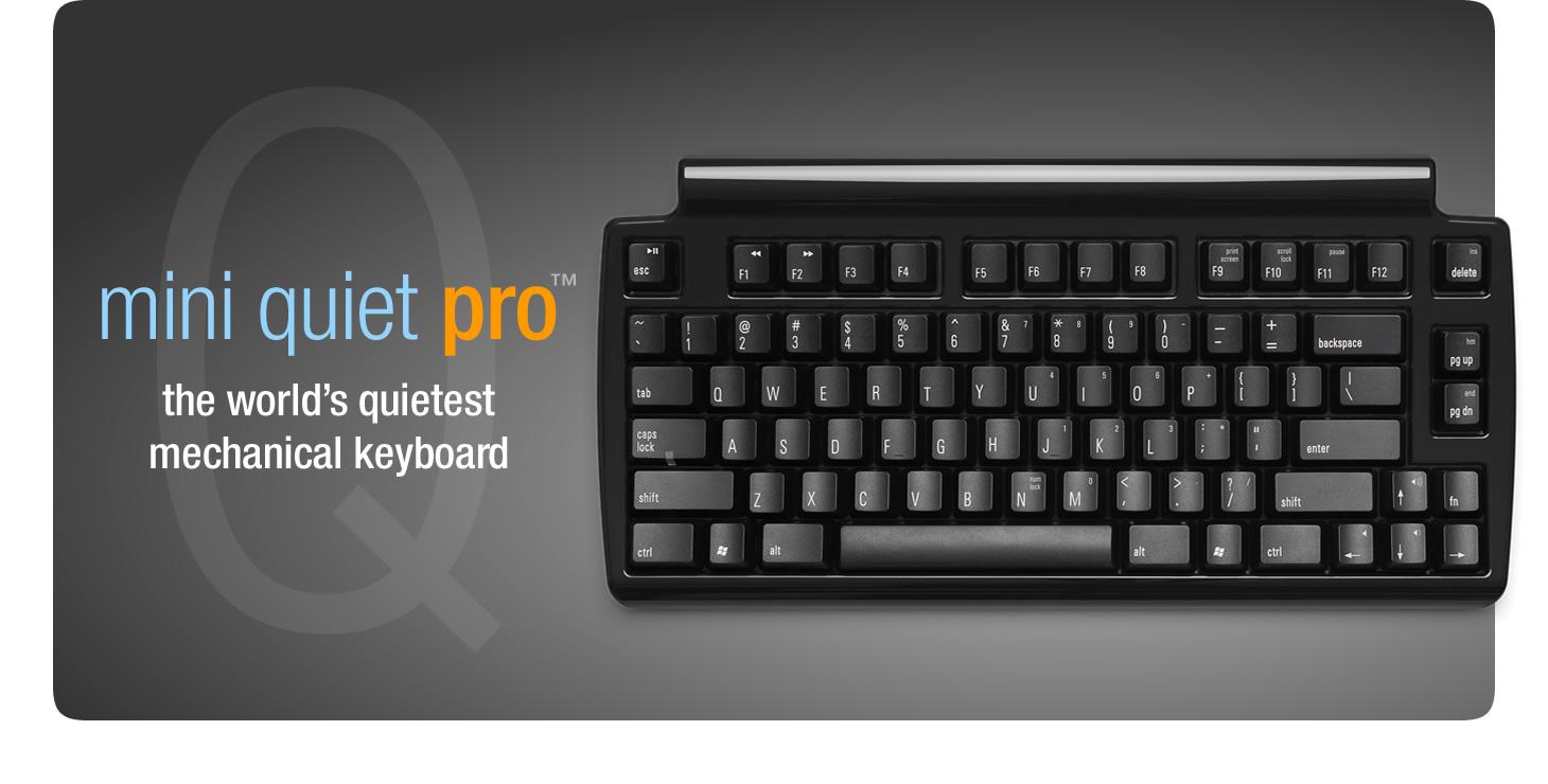 Matias Mini Quiet Pro Keyboard For Pc